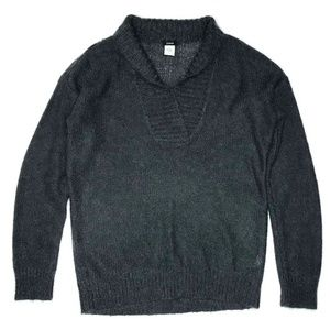 J. Crew Dolce Shawl Collar Pop Over Sweater